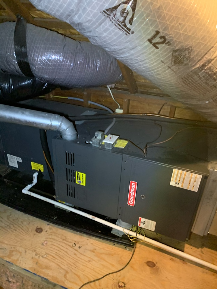 Goodman heat pump and propane furnace safety and performance evaluation