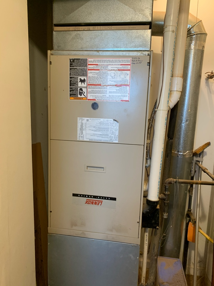Safety and performance evaluation of gas furnace and air conditioning