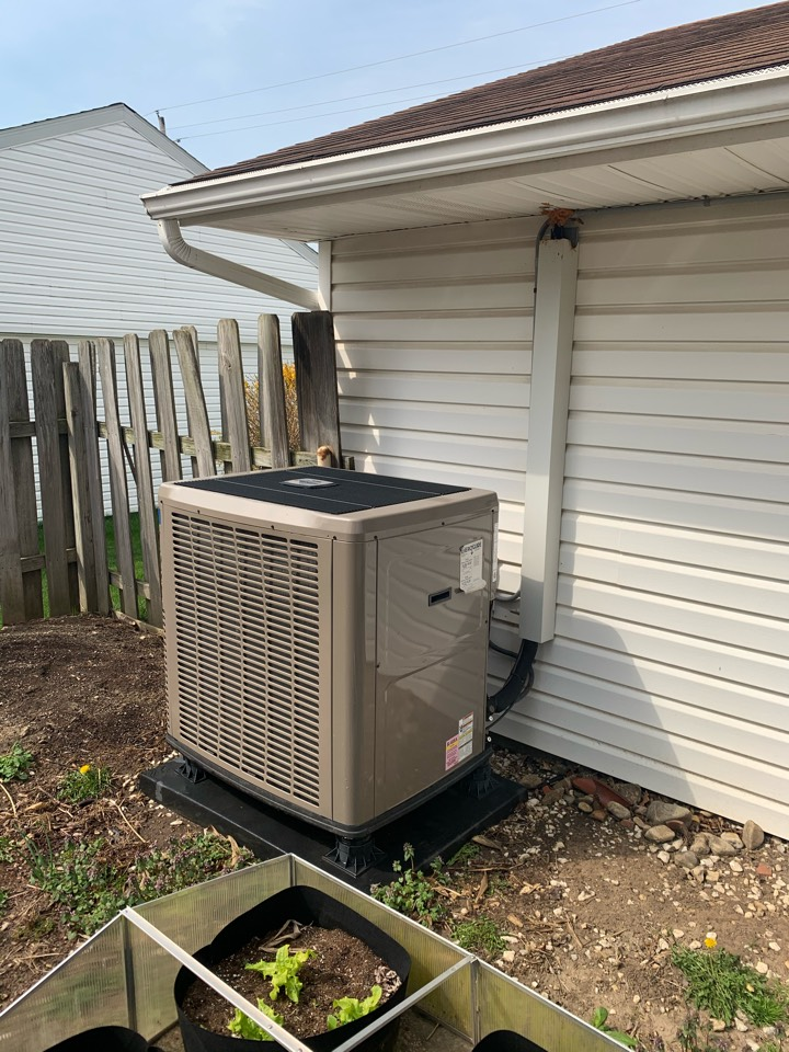 Maintenance on York Heat Pump