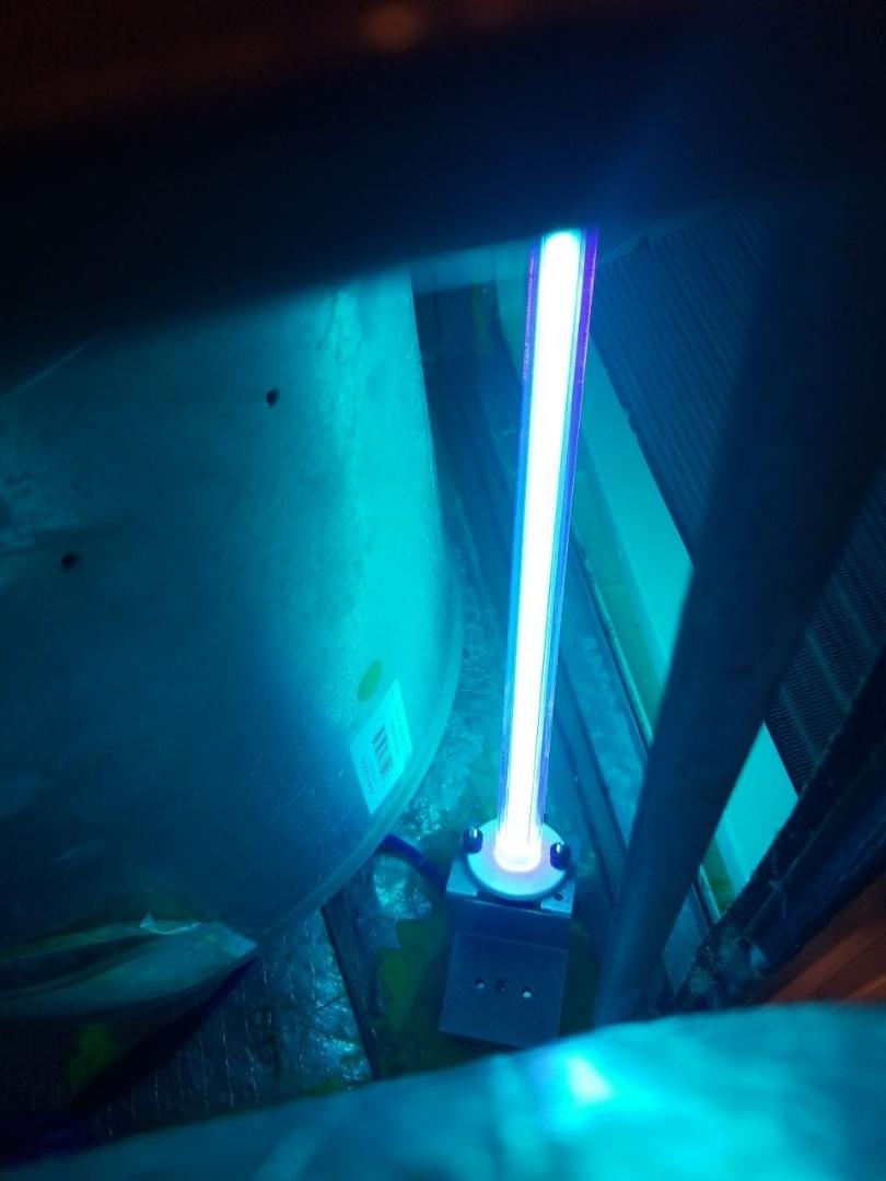 Install Uv light
