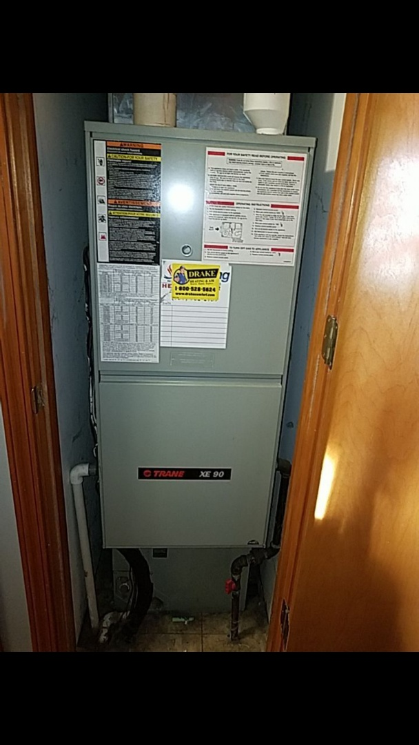 Eaton, OH - Tune up on train gas furnace and ac