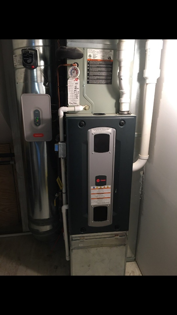Fountain of youth service on trane gas furnace