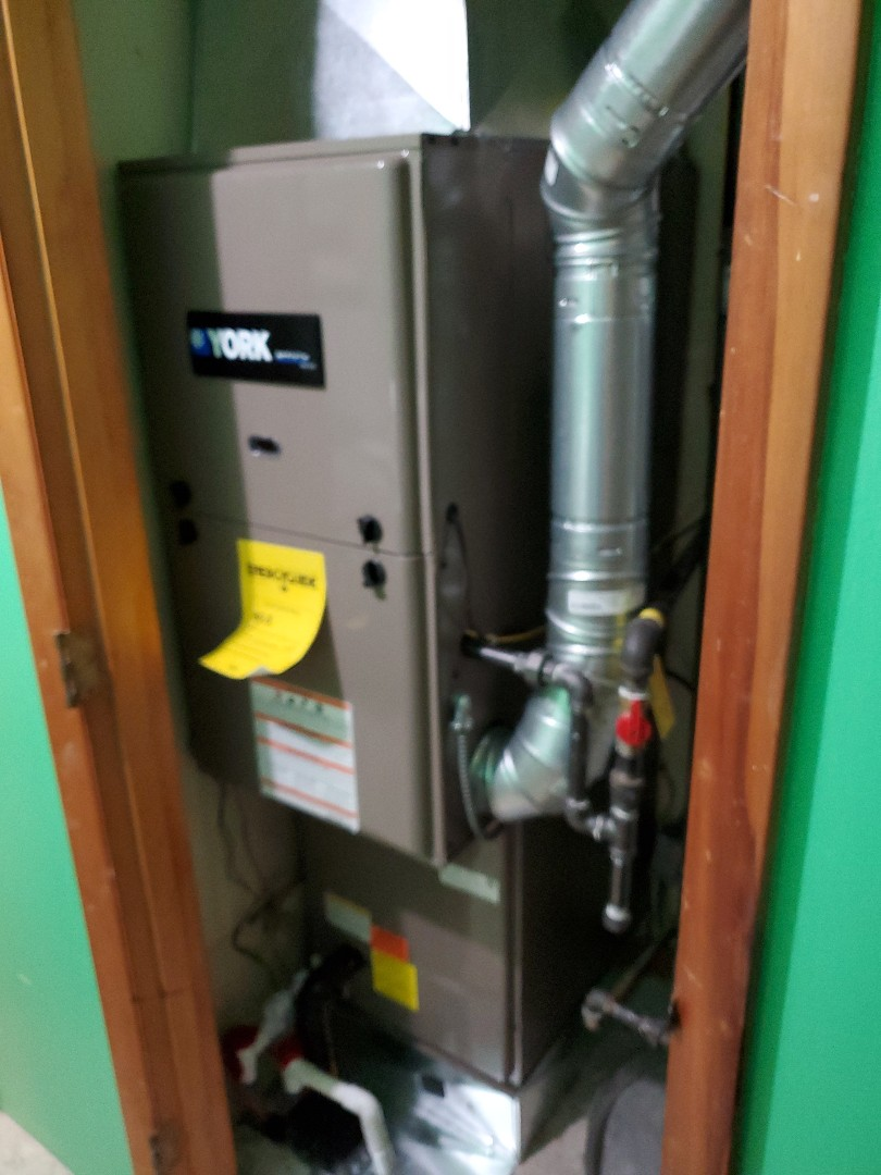 Installed new york furnace and air conditioning