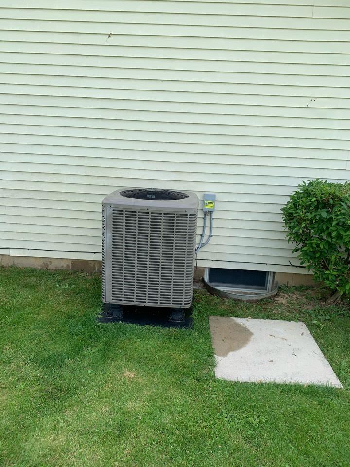 South Vienna, OH - Maintenance on York heat pump