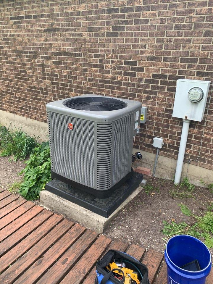Service on Rheem Heat Pump