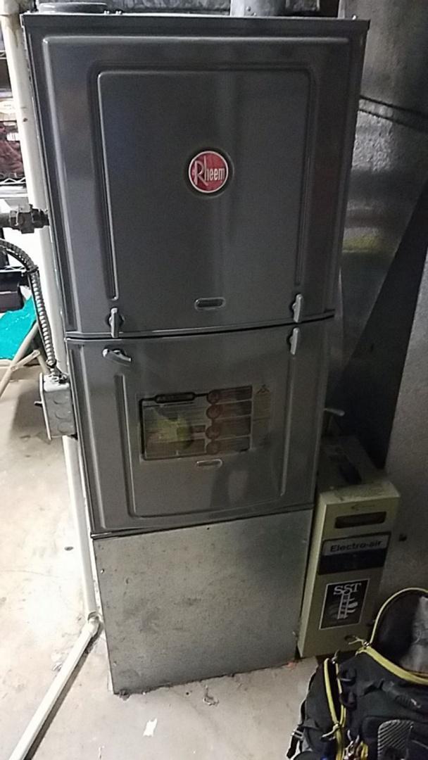 Tune up on rheem gas furnace