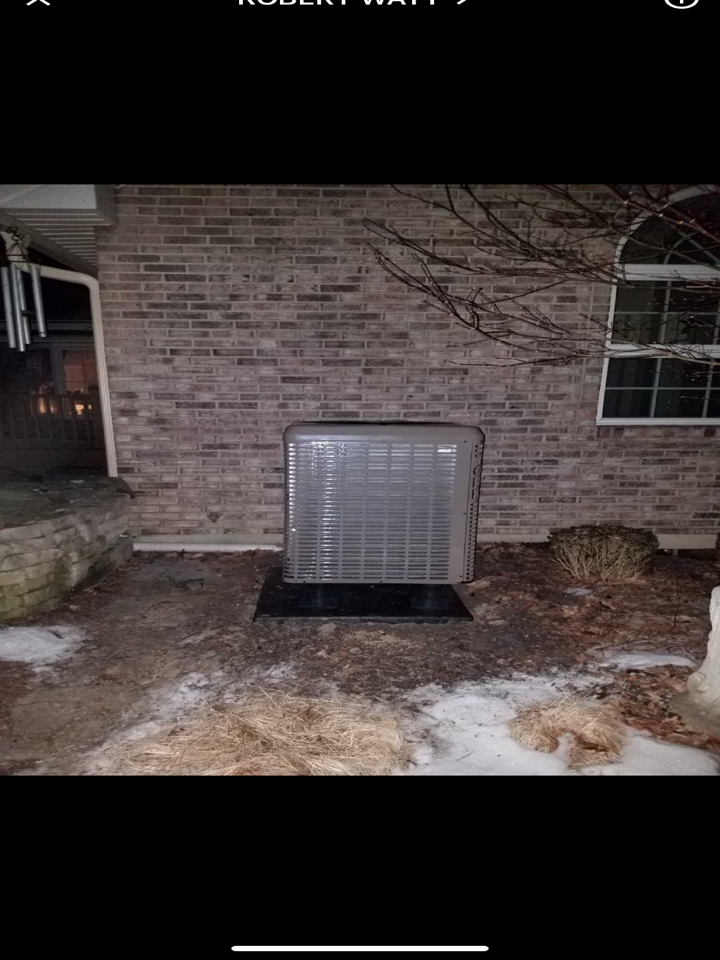 Performed fountain of youth service on york heatpump