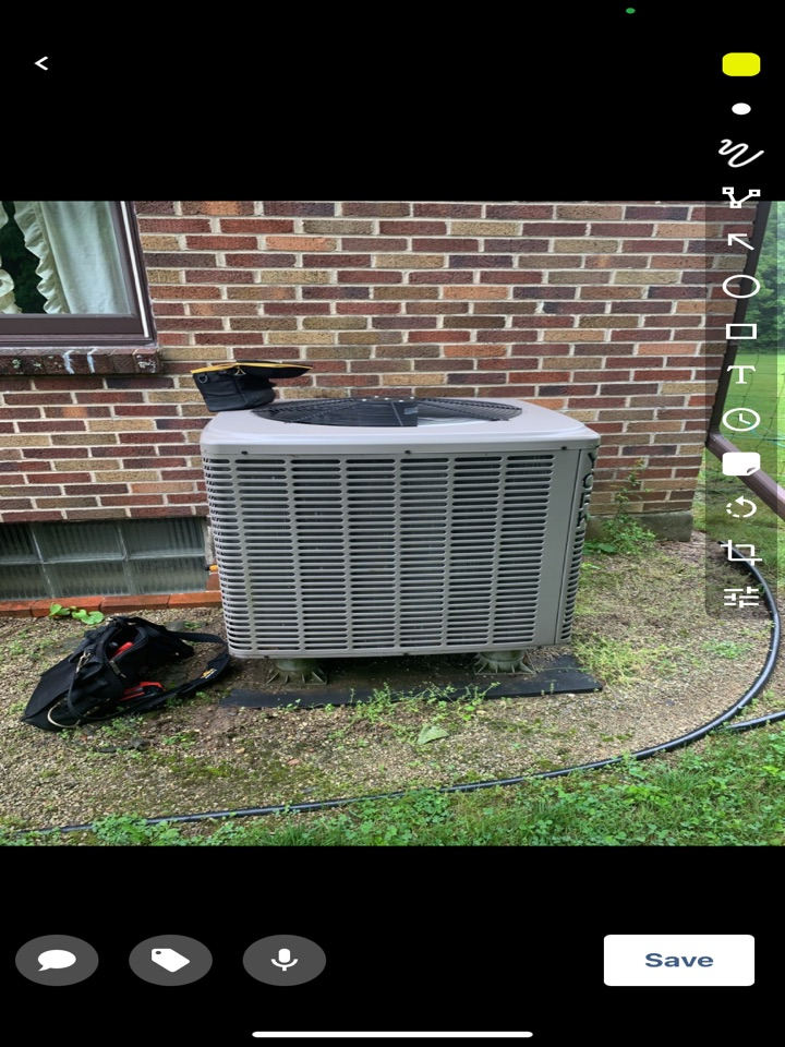 New Lebanon, OH - Performed fountain of youth service on York heat pump.