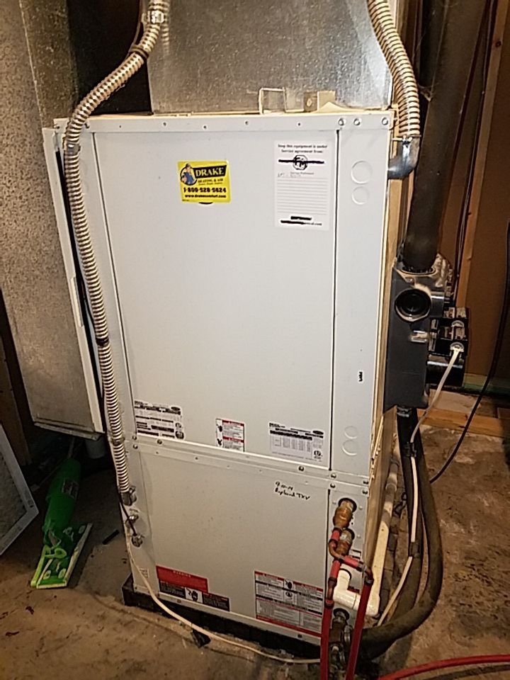 Carrier Geothermal repair and FOY