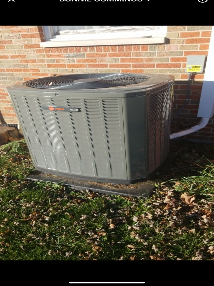 Performed fountain of youth service on trane Ac on heatpump.