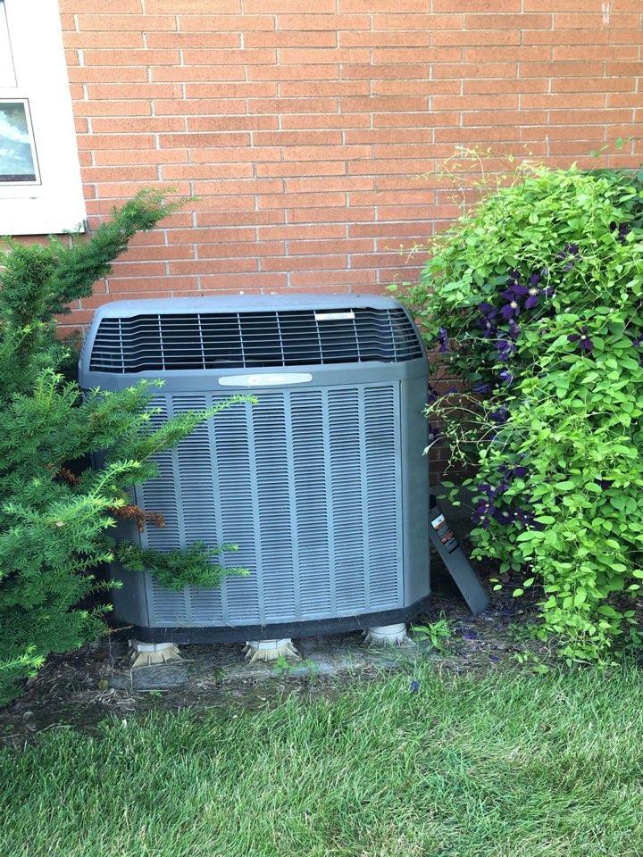 Englewood, OH - Trane heat pump repair