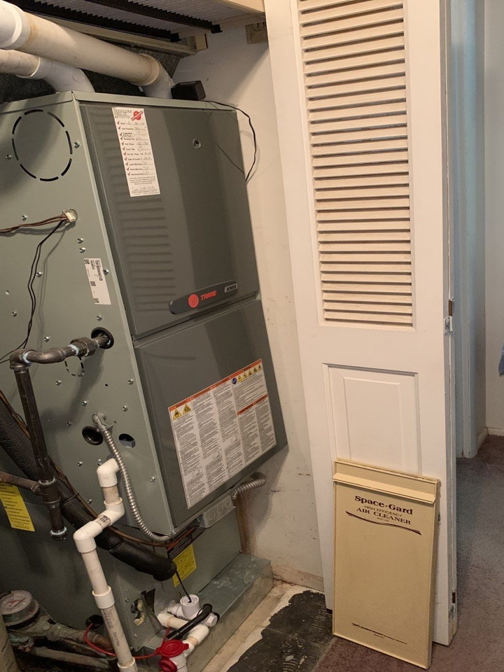 New Lebanon, OH - Performed fountain of youth service on trane Ac