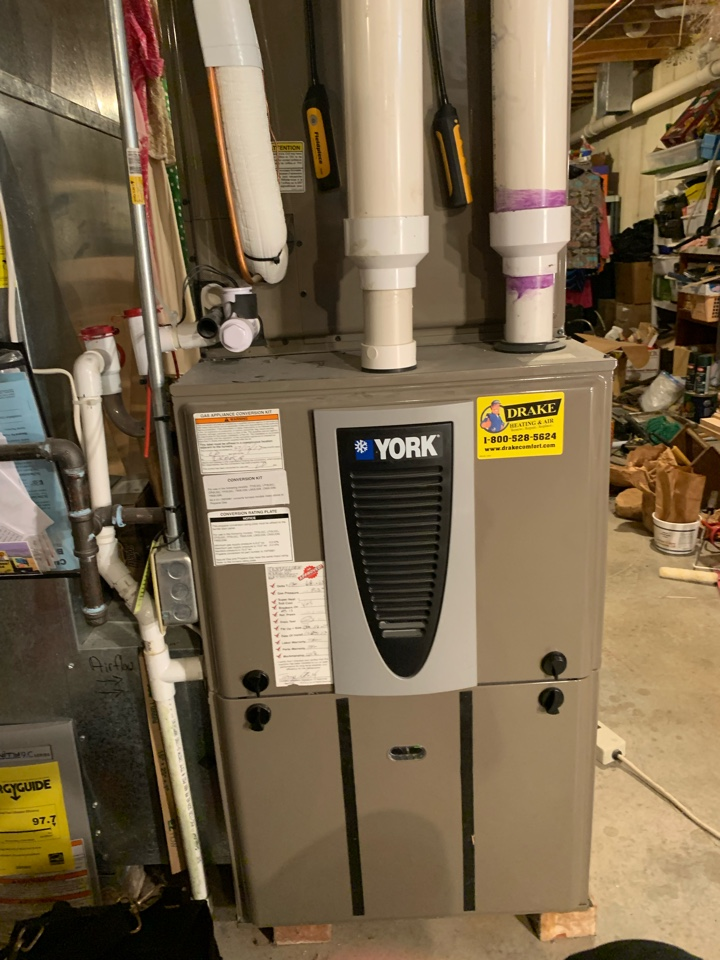 Performed fountain of youth service on York heat pump Ac side