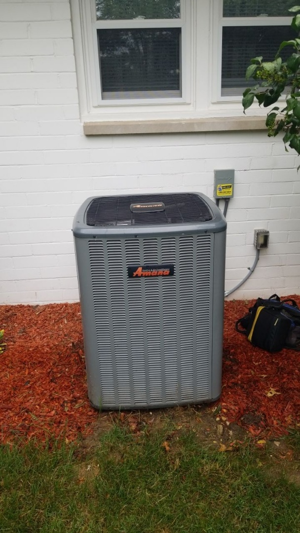 Tune up on AMANA Furnace and AC
