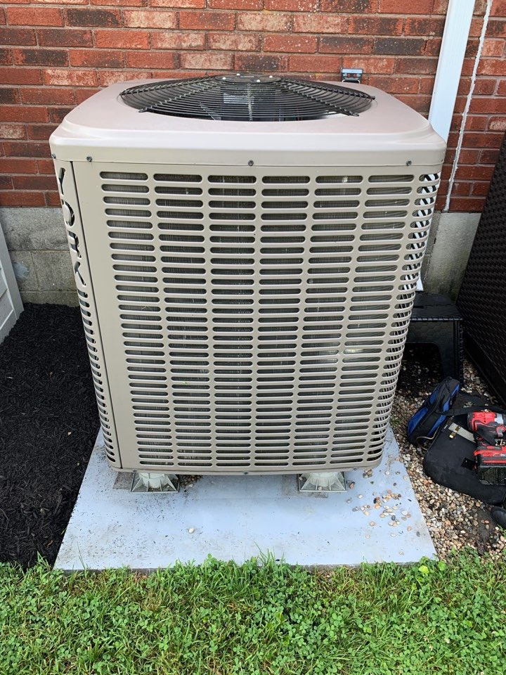 Performed fountain of youth service on York Ac side of heatpump