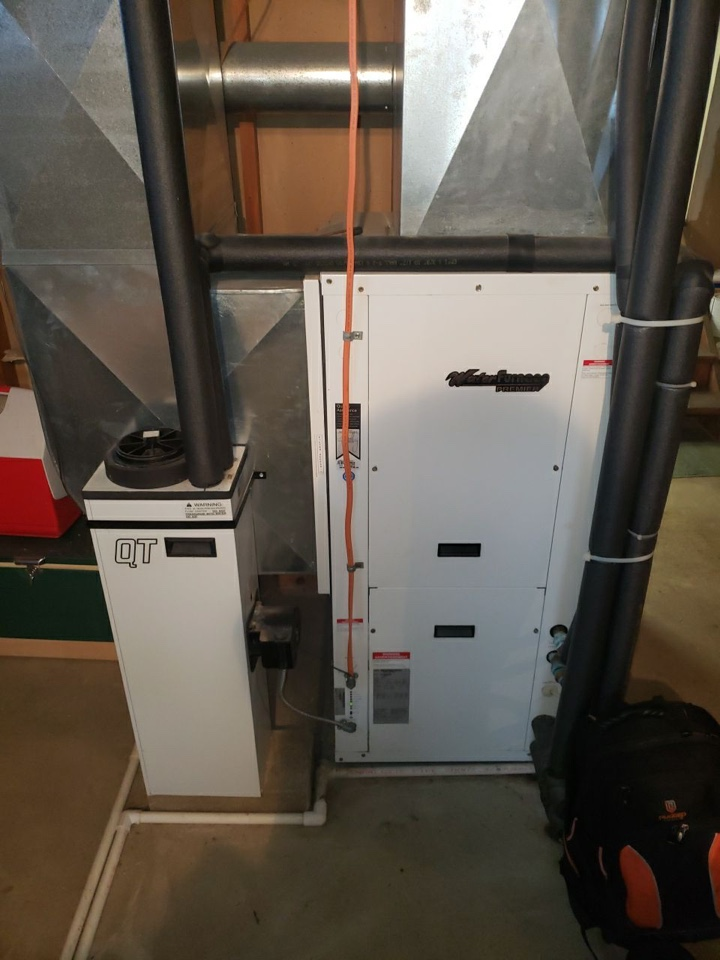 Water furnace geo cooling FOY