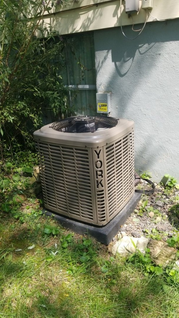 Tune up and repair on York AC