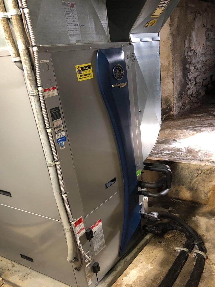 Lewisburg, OH -  Water furnace geo diagnostic