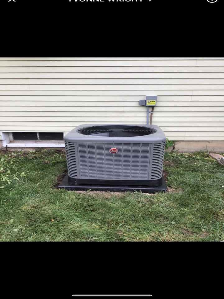 West Alexandria, OH - Performed fountain of youth service on Rheem Ac