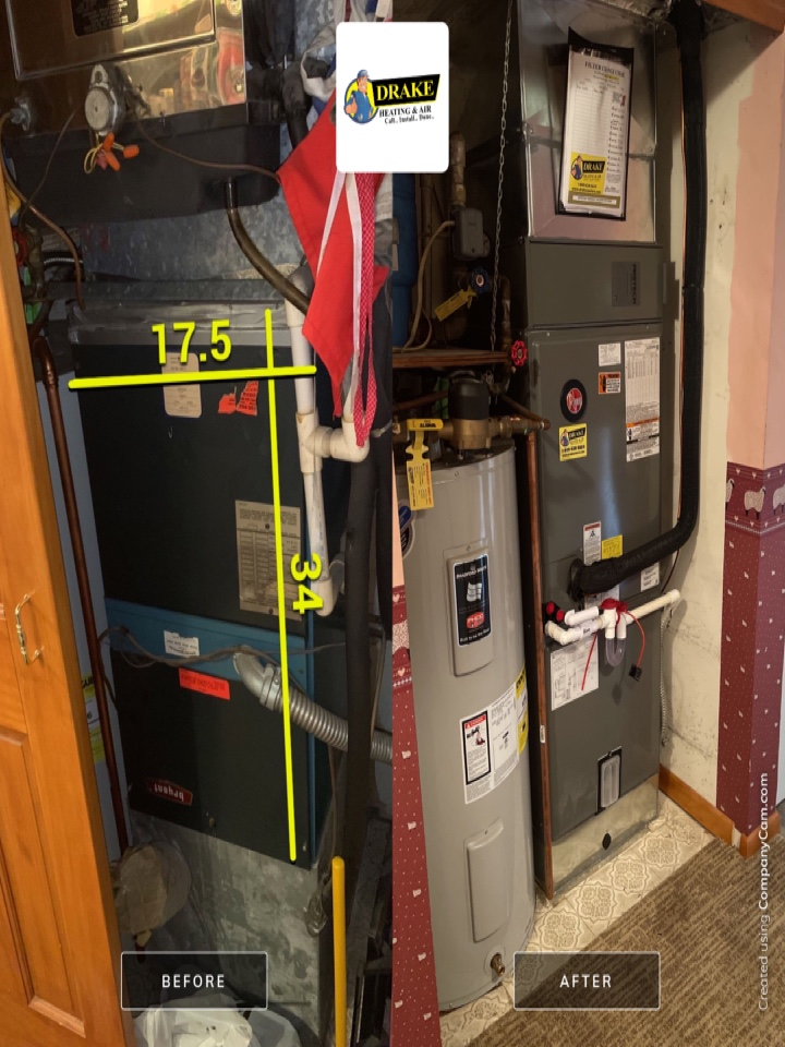 Tipp City, OH - Replaced air and let and heat pump