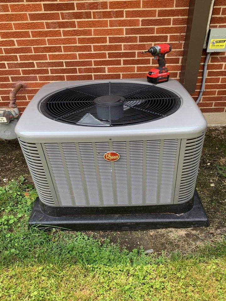 Englewood, OH - Performed fountain of youth service on Rheem Ac