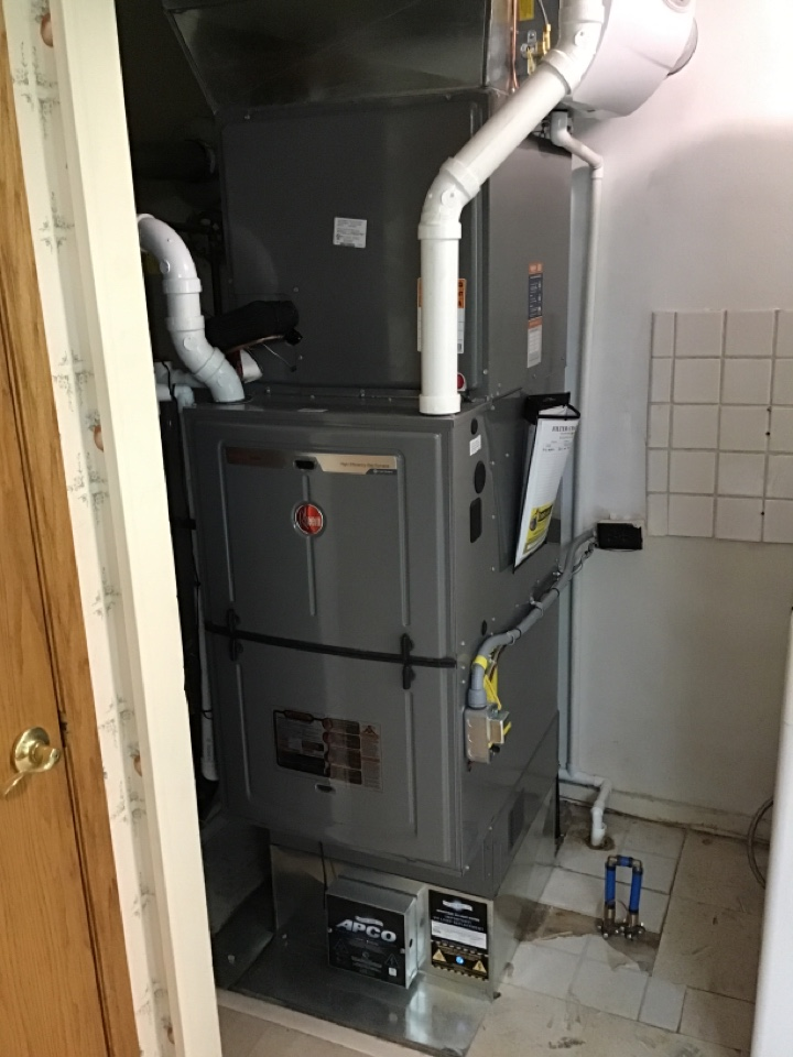 Englewood, OH - Replace furnace and air with duct cleaning and uv light
