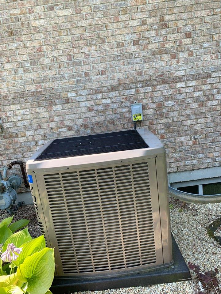 AC warranty repair