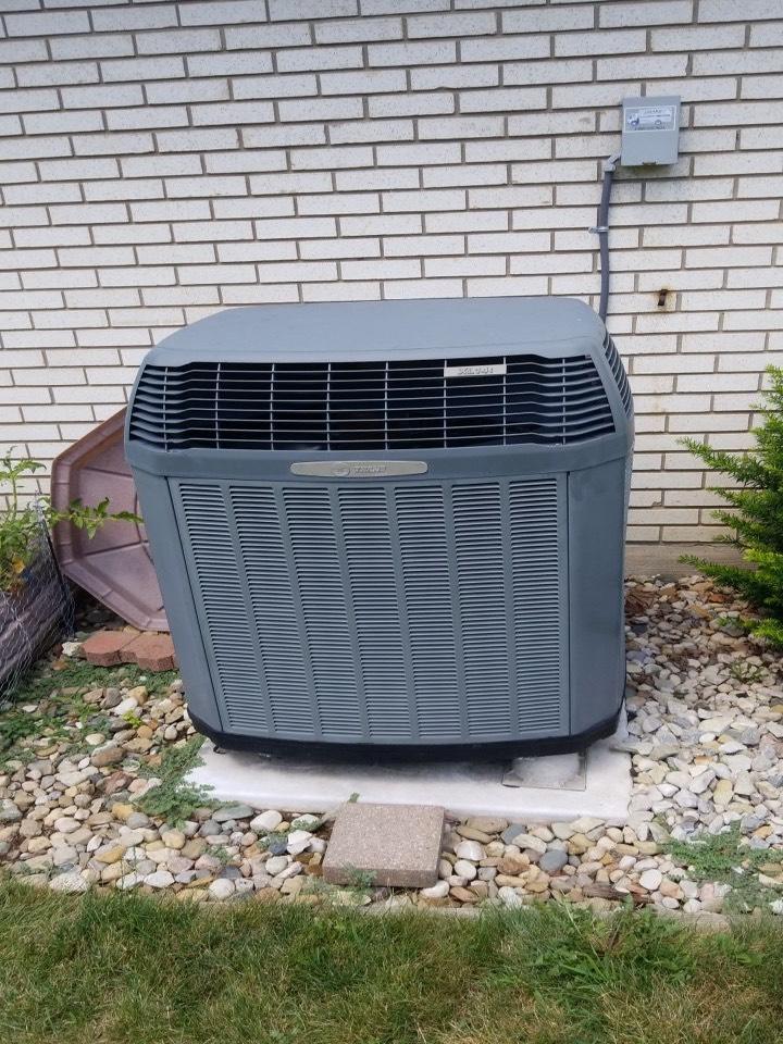 Trane heat pump FOY