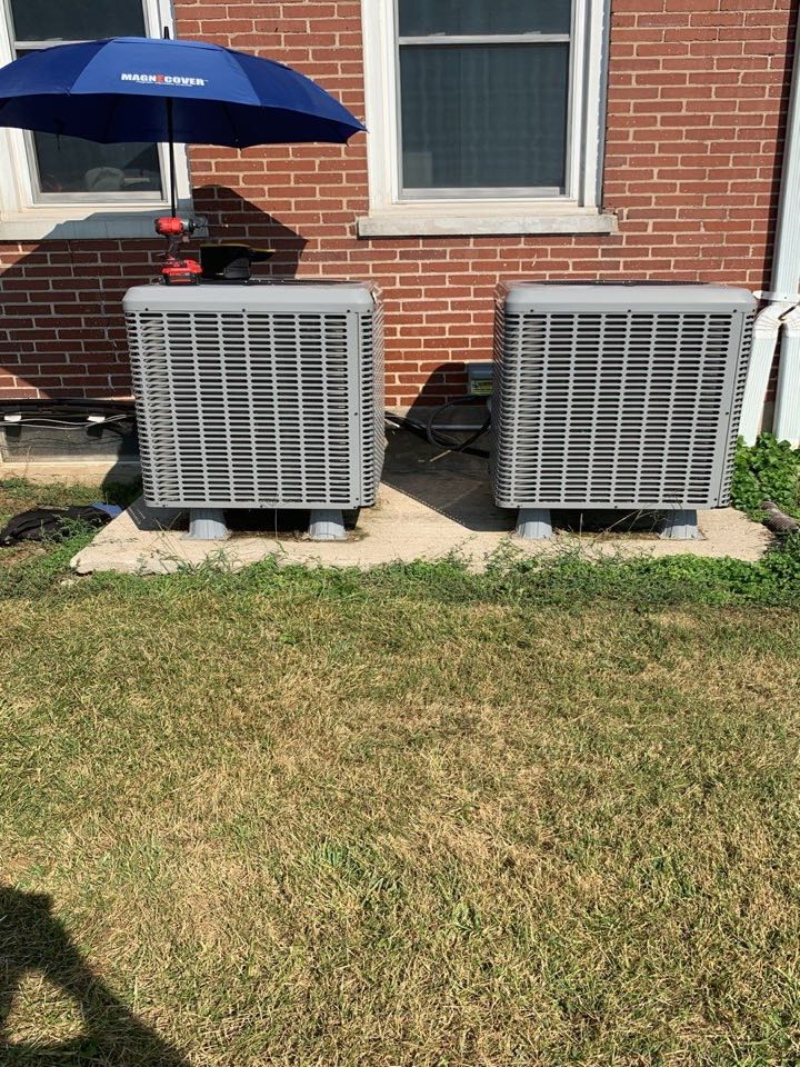 Performed fountain of youth service on 2 luxaire Ac's