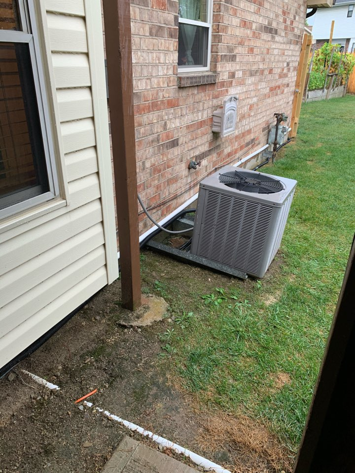Dayton, OH - Service call on weather king ac