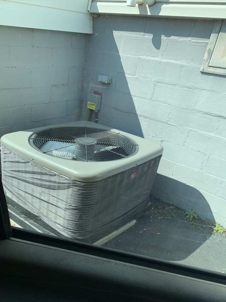 Springfield, OH - Performed fountain of youth service on Rheem Ac