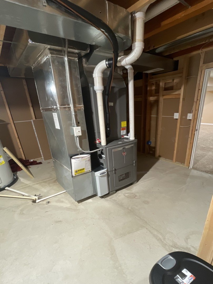 Dayton, OH - Replaced furnace and air
