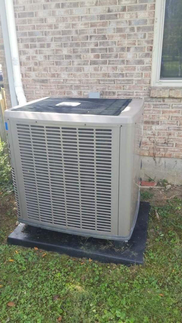 Brookville, OH - STU on York Heat pump