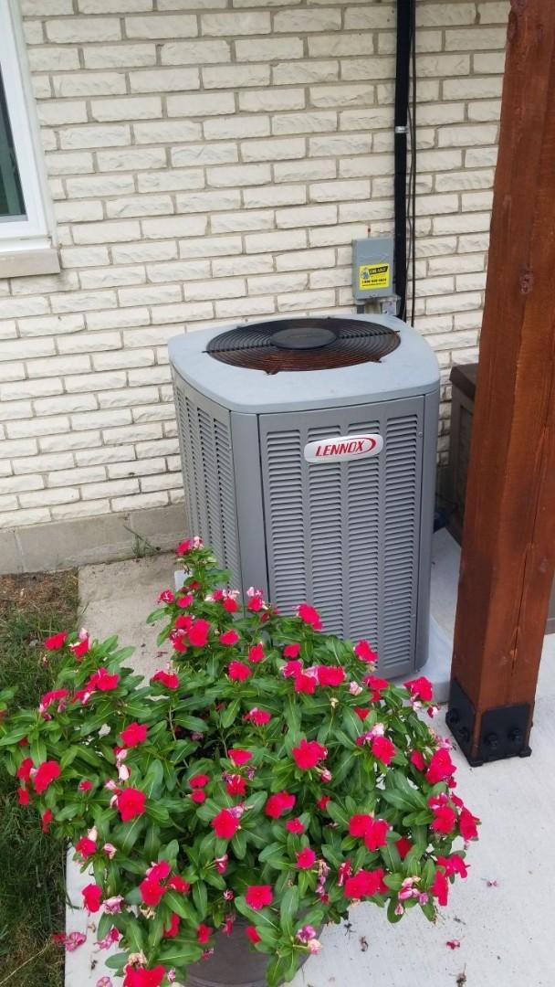 Brookville, OH - STU on Heat pump and Air handler