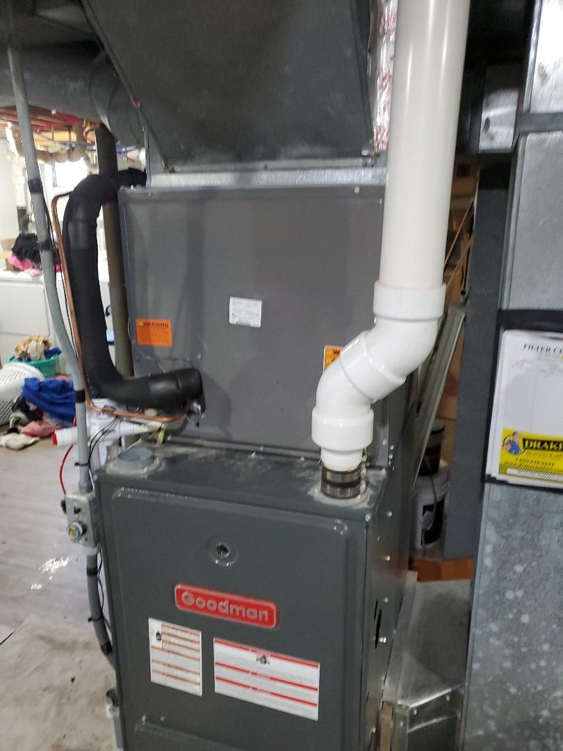 Springfield, OH - Installed rheem air conditioner