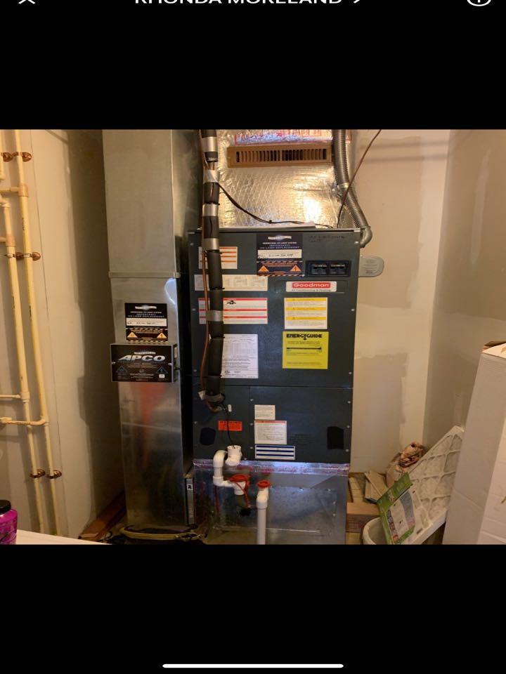 Tune up on Goodman heat pump