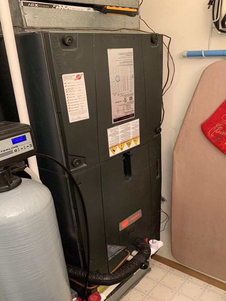Performed fountain of youth service on heatpump heating side