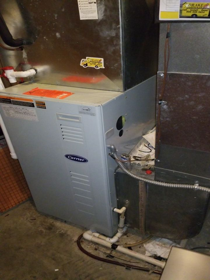 Carrier propane furnace tune-up