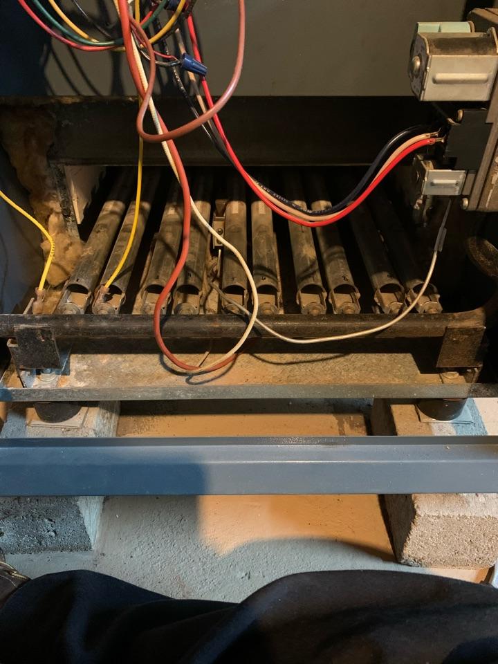 Gas boiler check