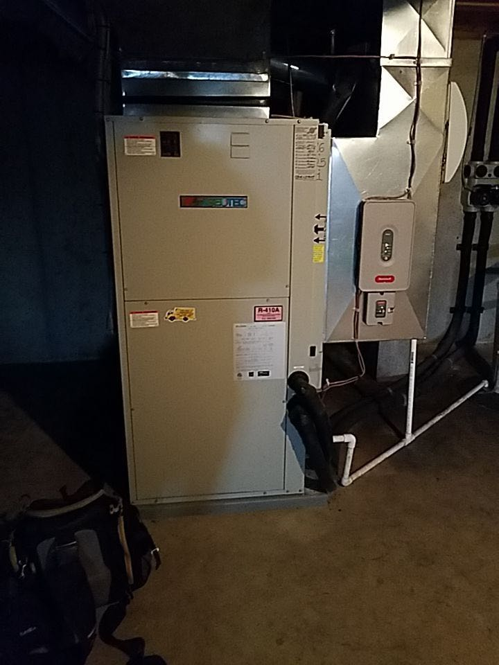 Cooling and Heating Tune-up on Bard Geo