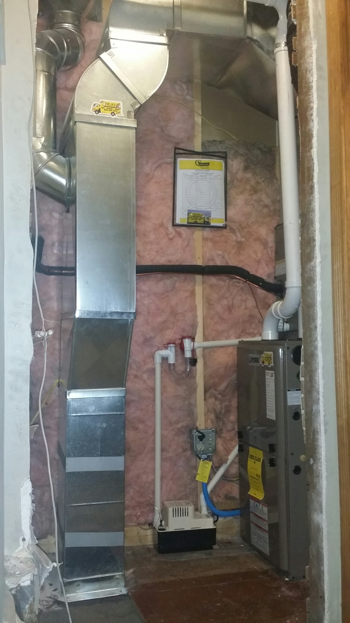 Franklin, OH - 95% furnace and new duct work