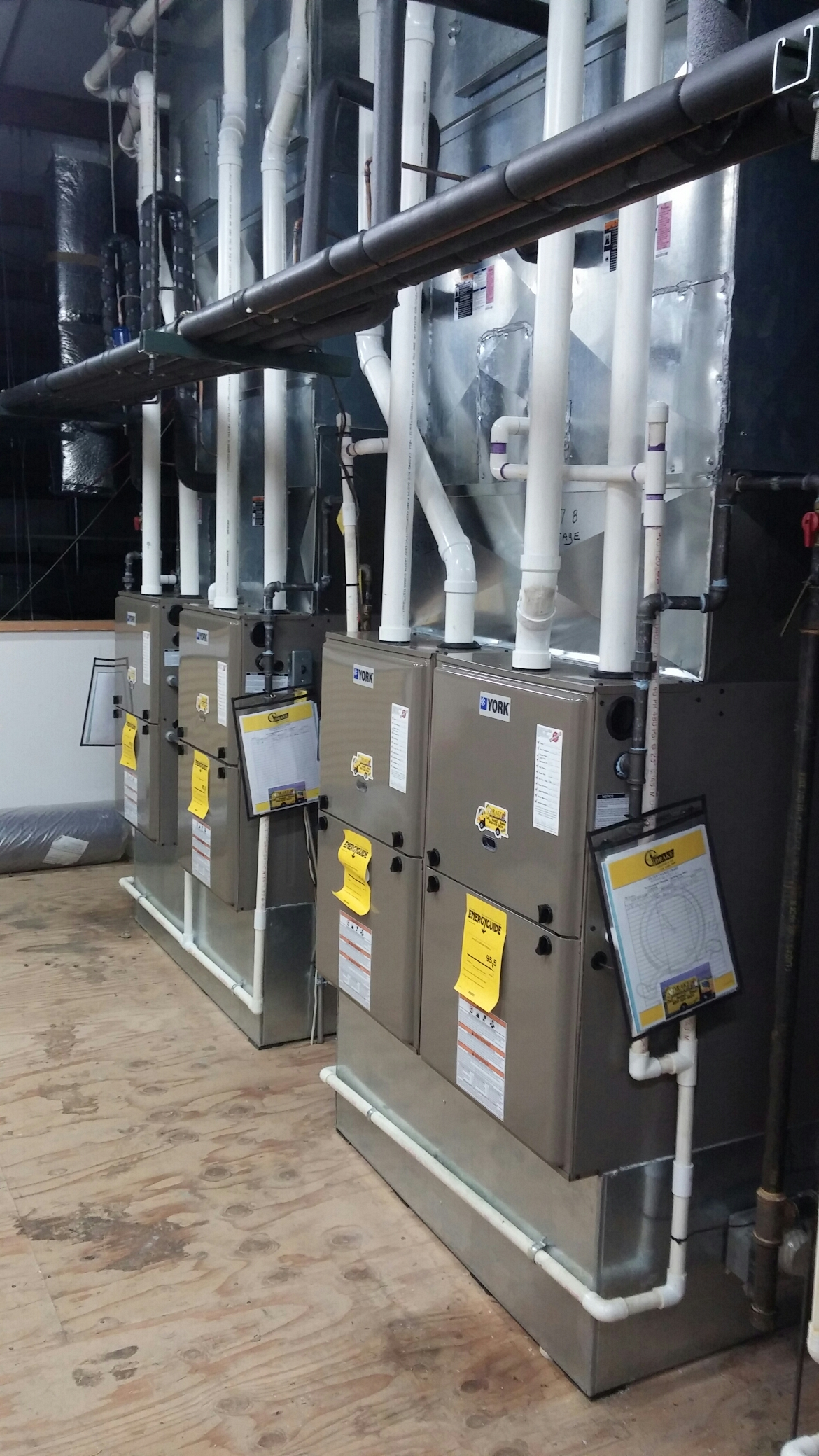 Huber Heights, OH - Install 95% furnace