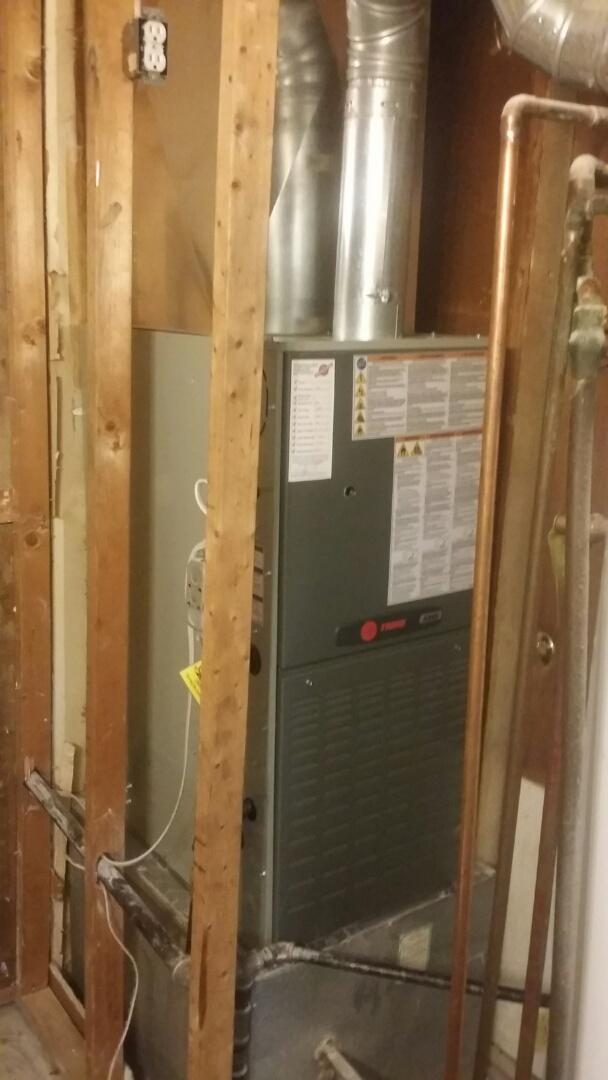 Centerville, OH - Trane 80 % furnace