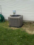 Trotwood, OH - Installed new YORK 13 seer 2ton AC.