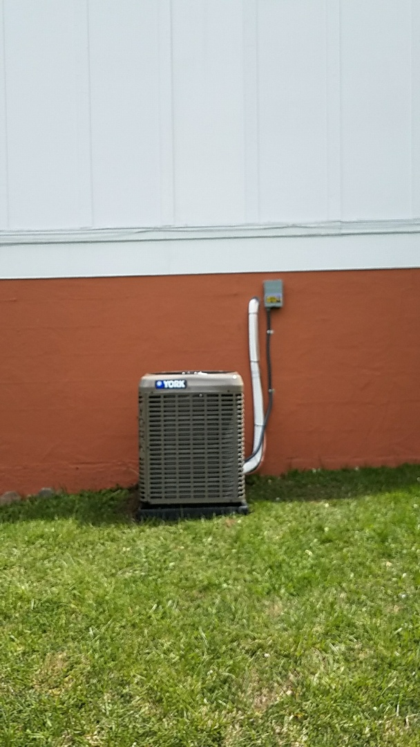Trotwood, OH - Installed new york air conditioner 13 seer