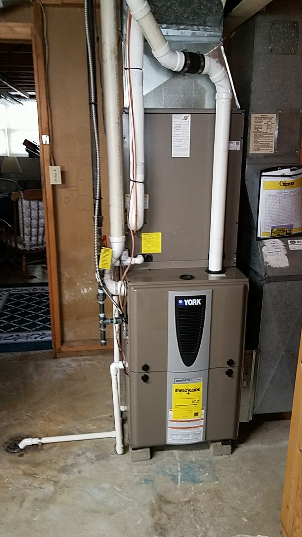 Vandalia, OH - Installed new york modulating furnace and heat pump