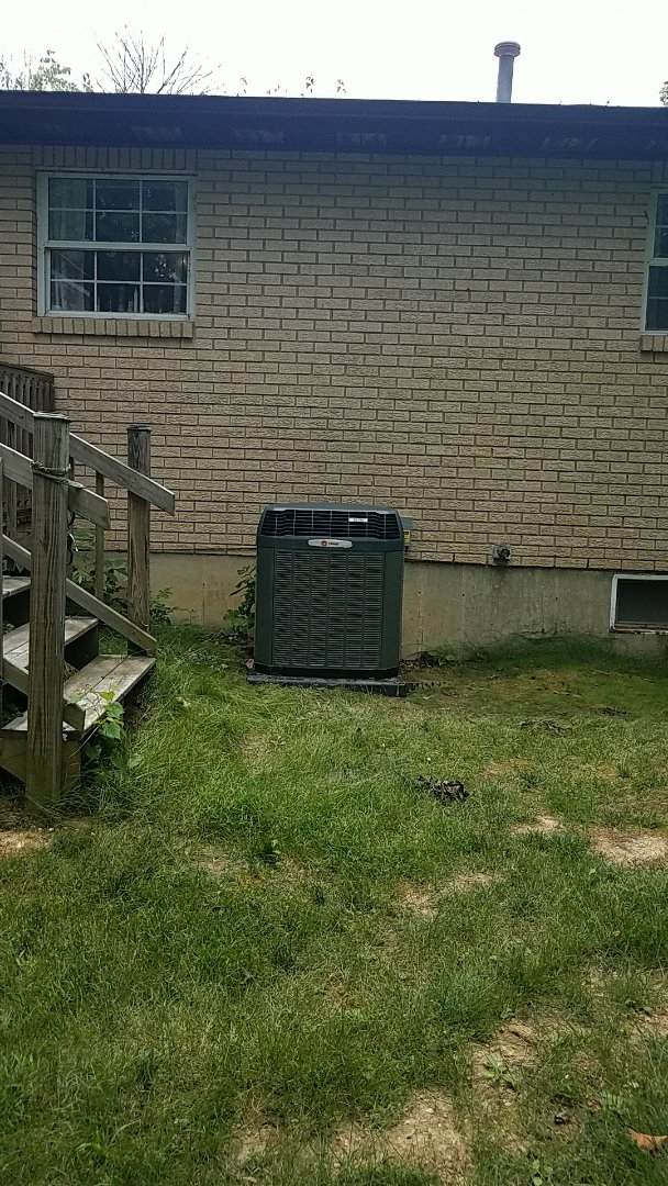 Oxford, OH - Installed new trane ac