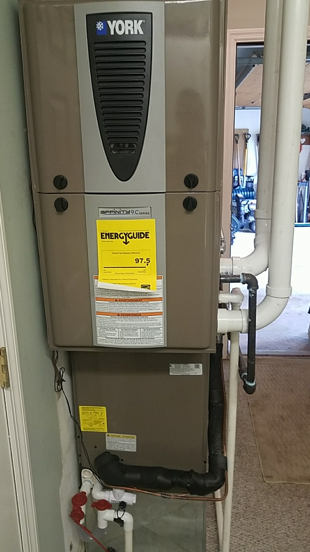Bellbrook, OH - Installed new york modulating furnace and air conditioning and
