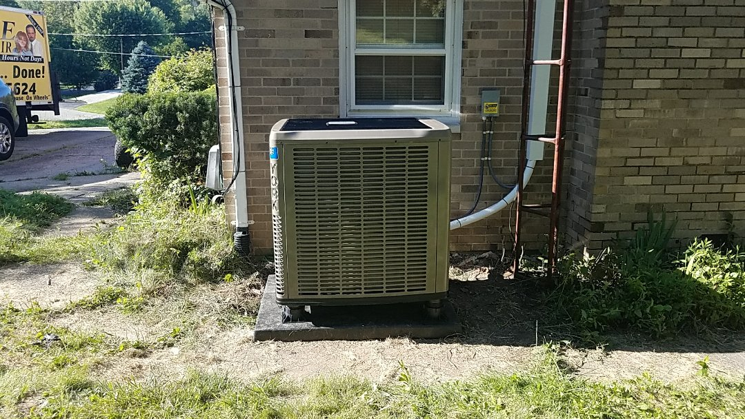 Springfield, OH - Installed new york air handler and heat pump