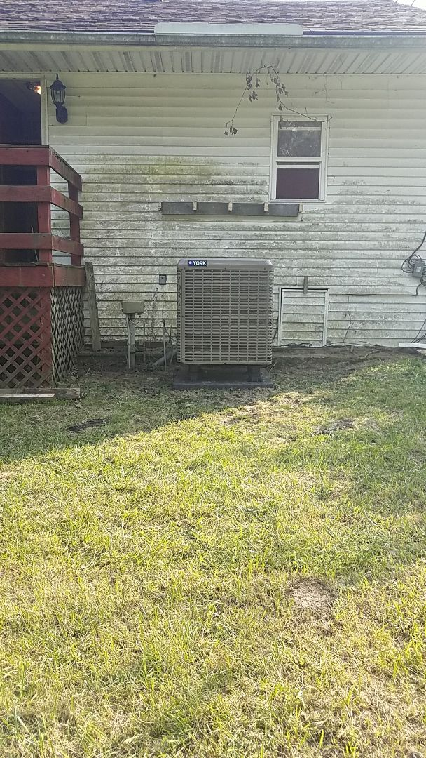 Germantown, OH - Installed new york air handler and heat pump